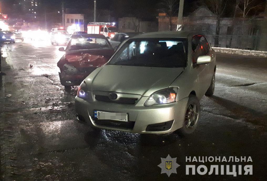 аварии в Мелитополе