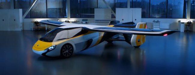 В Словакии готовятся тестировать летающий автомобиль (ВИДЕО)