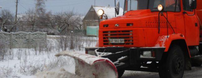 В Службе автодорог сообщили, какое состояние дорог в Запорожской области