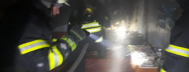 В центре Запорожья произошел пожар в жилом доме