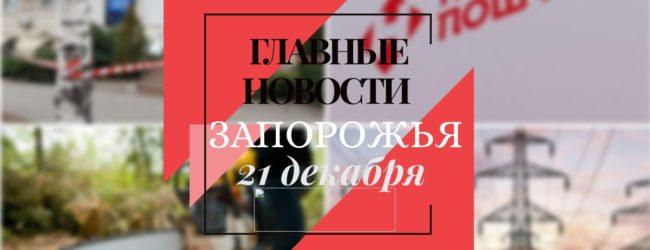 Главные новости дня в Запорожье: заявления от облэнерго и решение о вырубке двух тысяч деревьев
