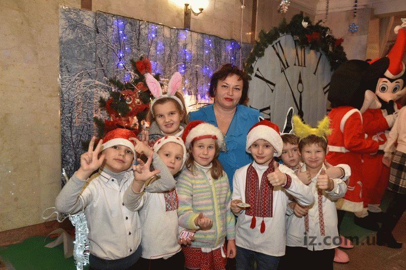 Елена Грищишина с учениками