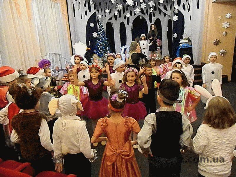 Ученики Запорожской специализированной школы-интерната «Світанок» под Новый год перенеслись в лето