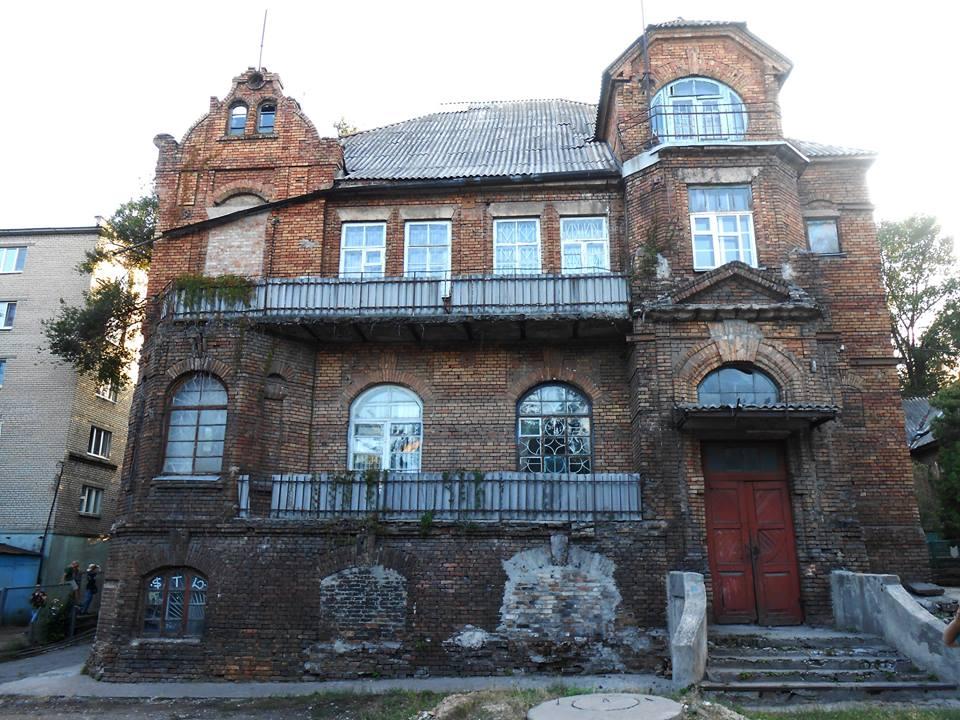 Замок Вальмана. Фото взято со страницы Романа Акбаша
