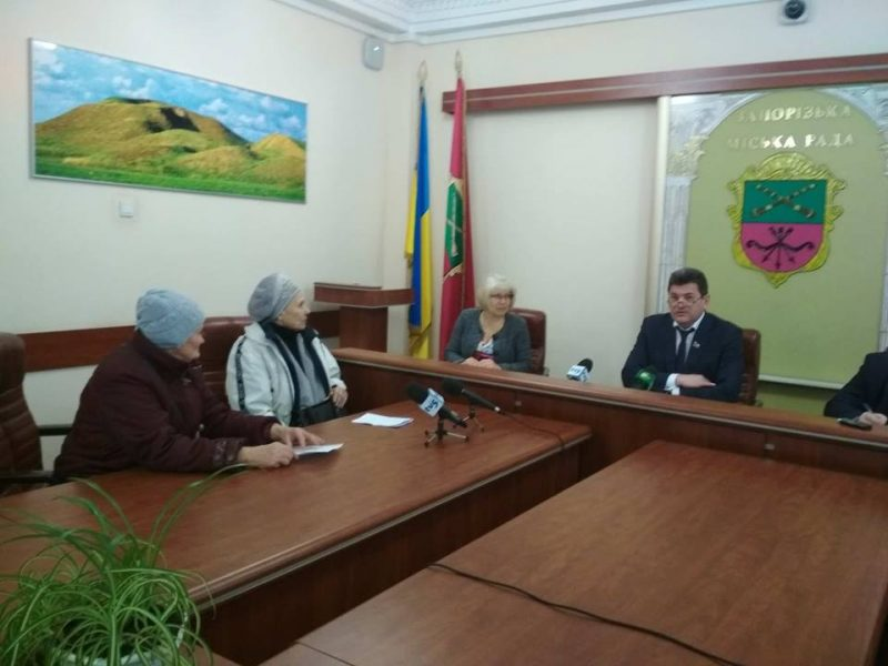 прием мэра Владимира Буряка