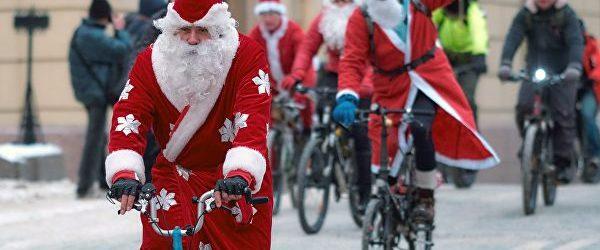 """Накануне Нового Года в Запорожье пройдёт велопарад """"Дед Санта рулит!"""""""