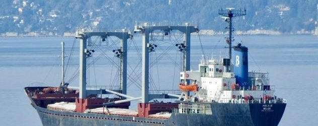 Россияне, прикрываясь штормами, заблокировали движение судов в порт Бердянска