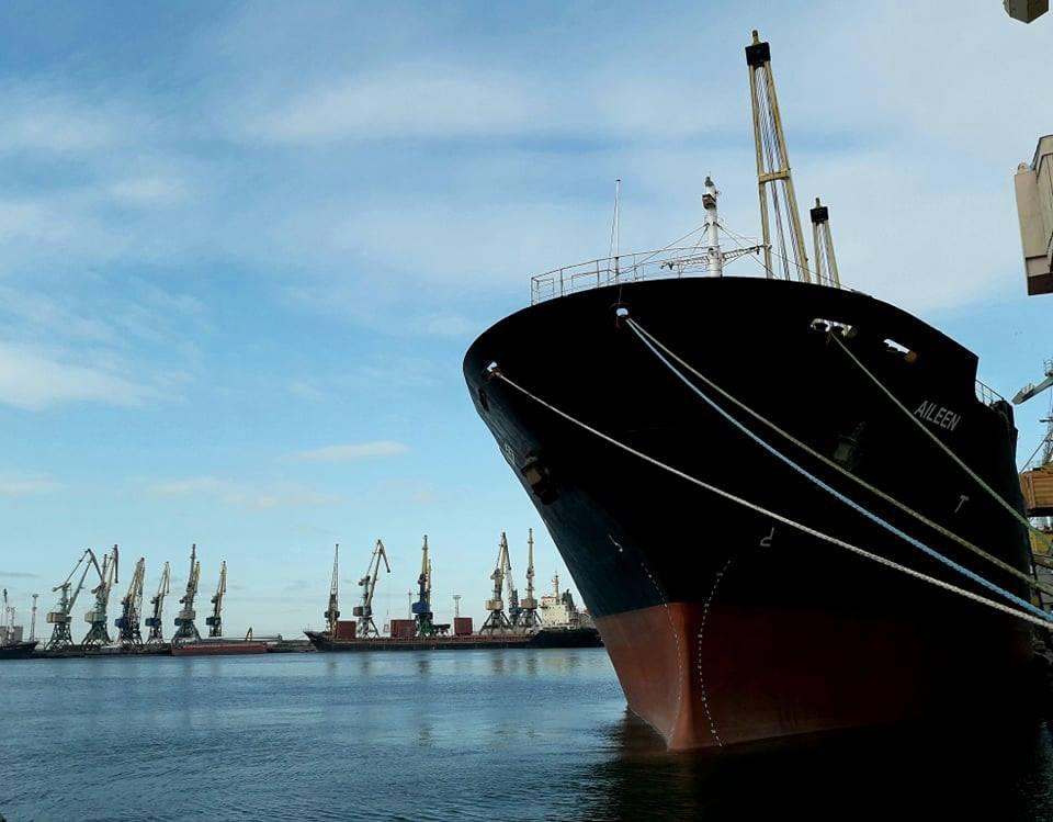 Россияне частично разблокировали проход судов в Бердянский порт