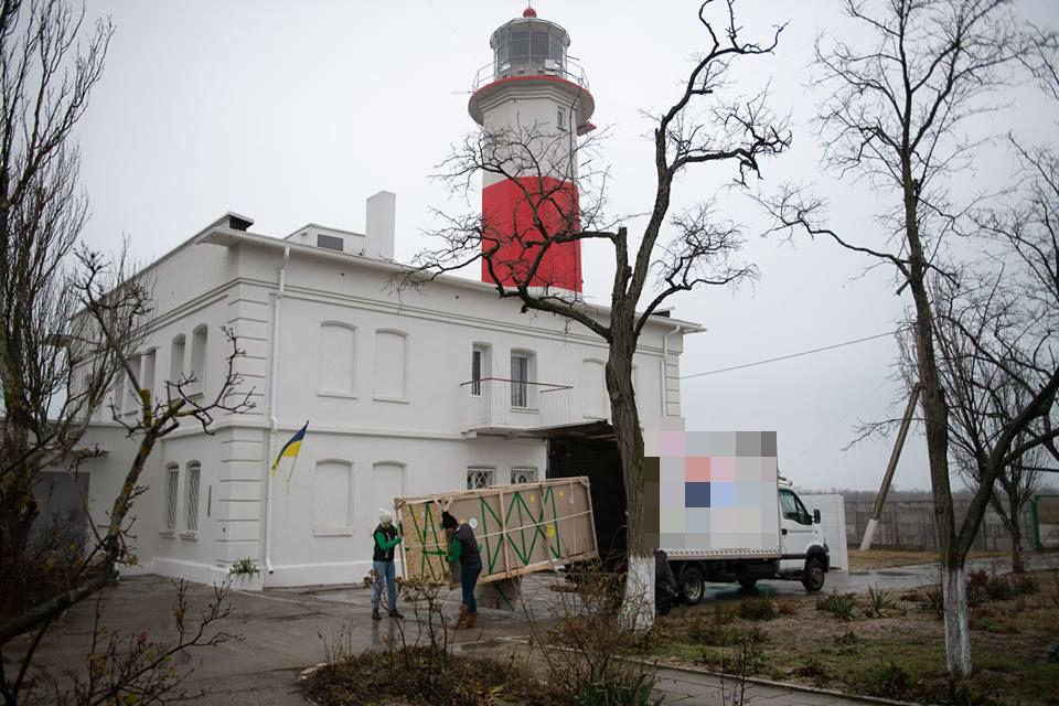Смотритель Бердянского маяка