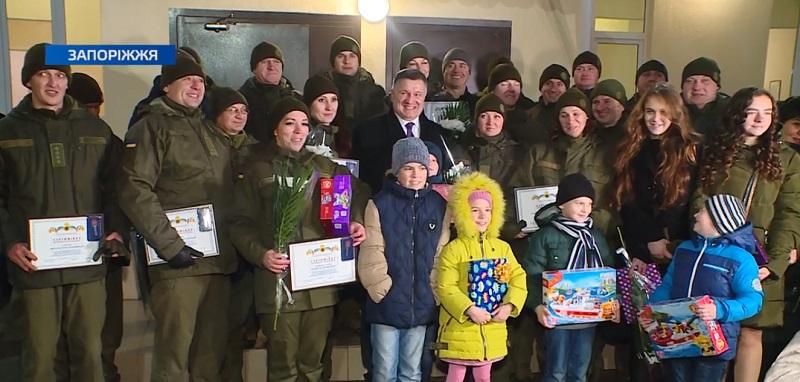 Сьогодні 30 сімей військовослужбовців Національної Гвардії України отримали нові квартири