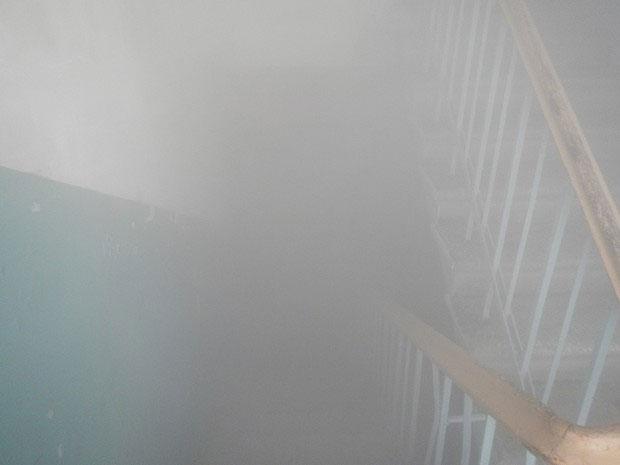 """""""Те, у кого нет резиновых сапог, выйти не могут…"""": в Запорожье подъезд жилого дома затопило кипятком (Фото)"""