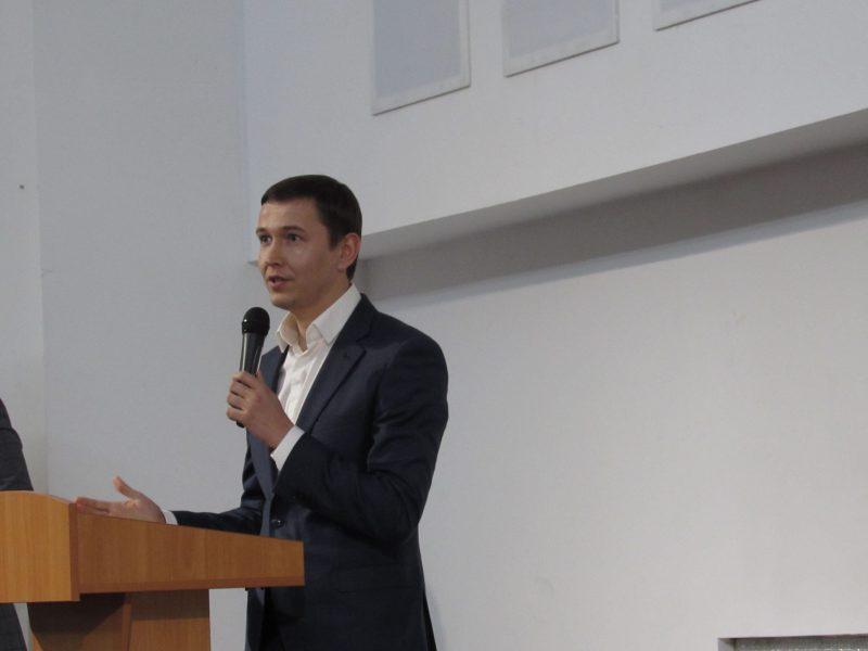 руководитель отдела ПАО «Запорожсталь», депутат Запорожского областного совета Ярослав Крыль