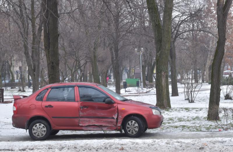 ДТП на улице Независимая Украина