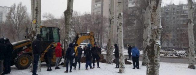 В Запорожье возник конфликт, связанный со строительством нового жилого комплекса