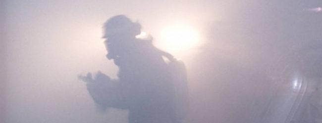 В Александровском районе произошло возгорание коллектора