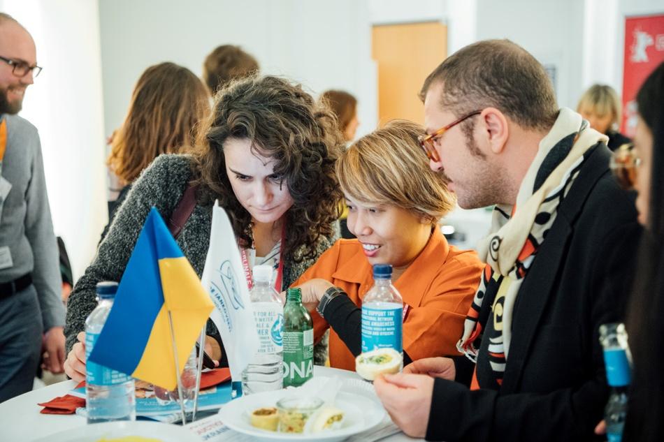 Гости украинского бинес-ланча