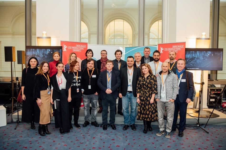 Украинская делегация на Берлинале 2019