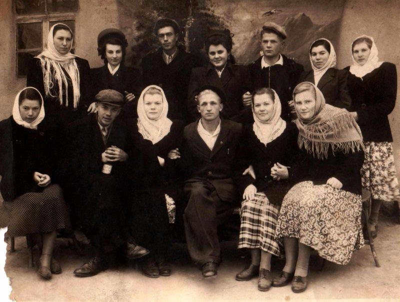 Сельская молодежь - послевоенные годы