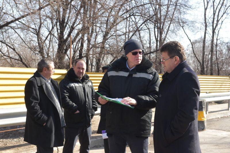 рабочая поездка мэра Владимира Буряка