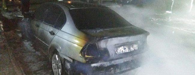 В полиции прокомментировали возгорание автомобиля в Мелитополе