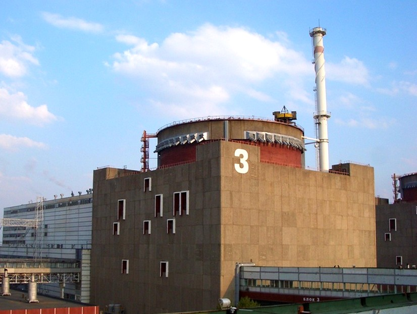 Система защиты отключила от сети один из блоков Запорожской АЭС