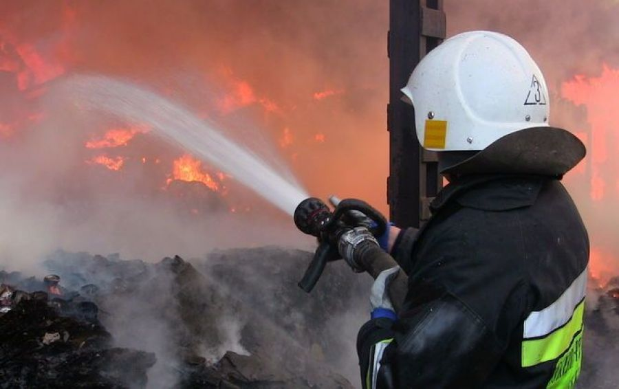 В запорожском селе ликвидировали крупный пожар - ГСЧС