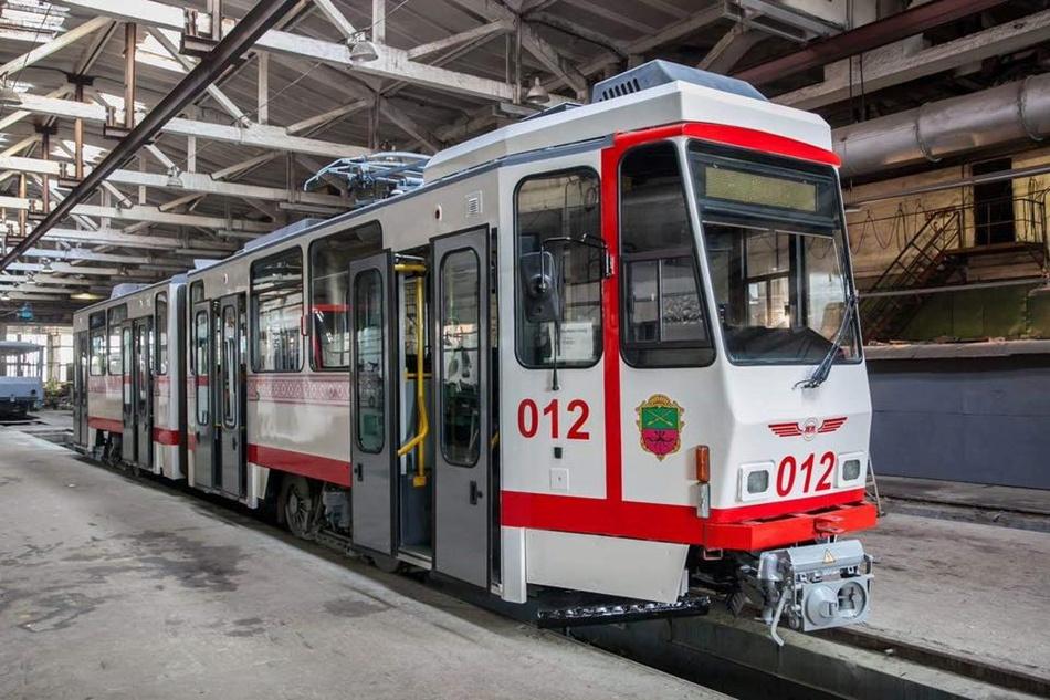 Три новых трамвая в Запорожье