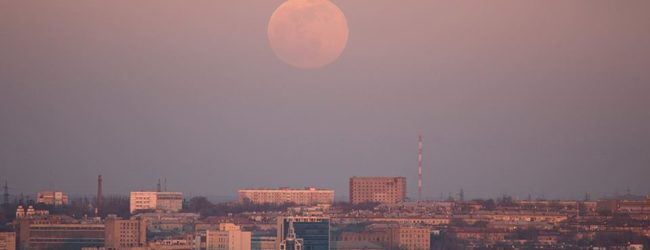 Жители Запорожской области наблюдали редкое астрономическое явление (ФОТО)