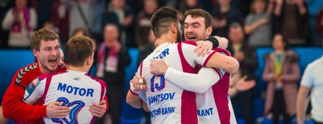 Запорожские гандболисты вышли в плей-офф Лиги чемпионов