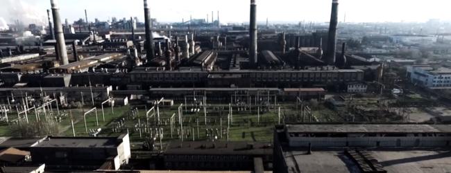 Запорожские заводы показали с высоты птичьего полета (ВИДЕО)
