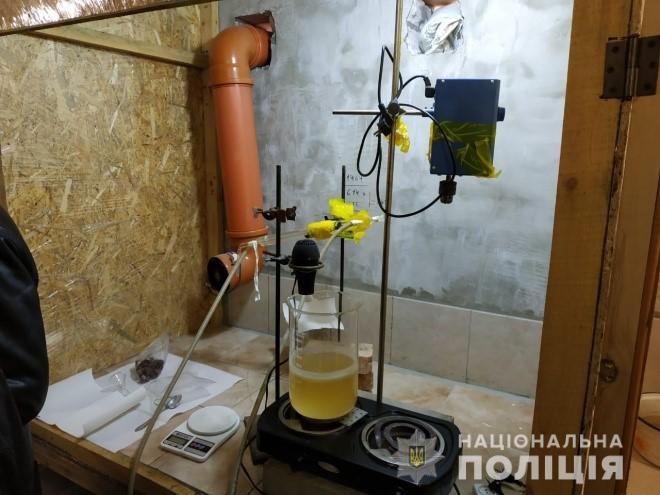 В пригороде Запорожье выявили лабораторию
