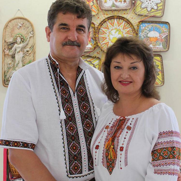 Виктор и Лариса Нагурные