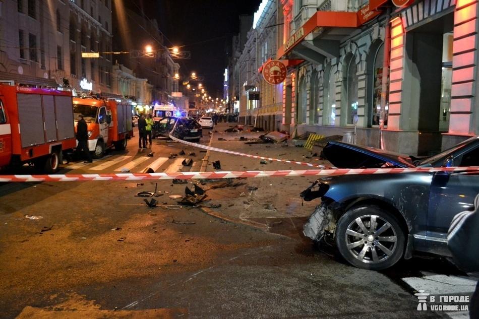 ДТП в Харькове на Сумской 18 октября 2017 года унесло жизни 6 людей.