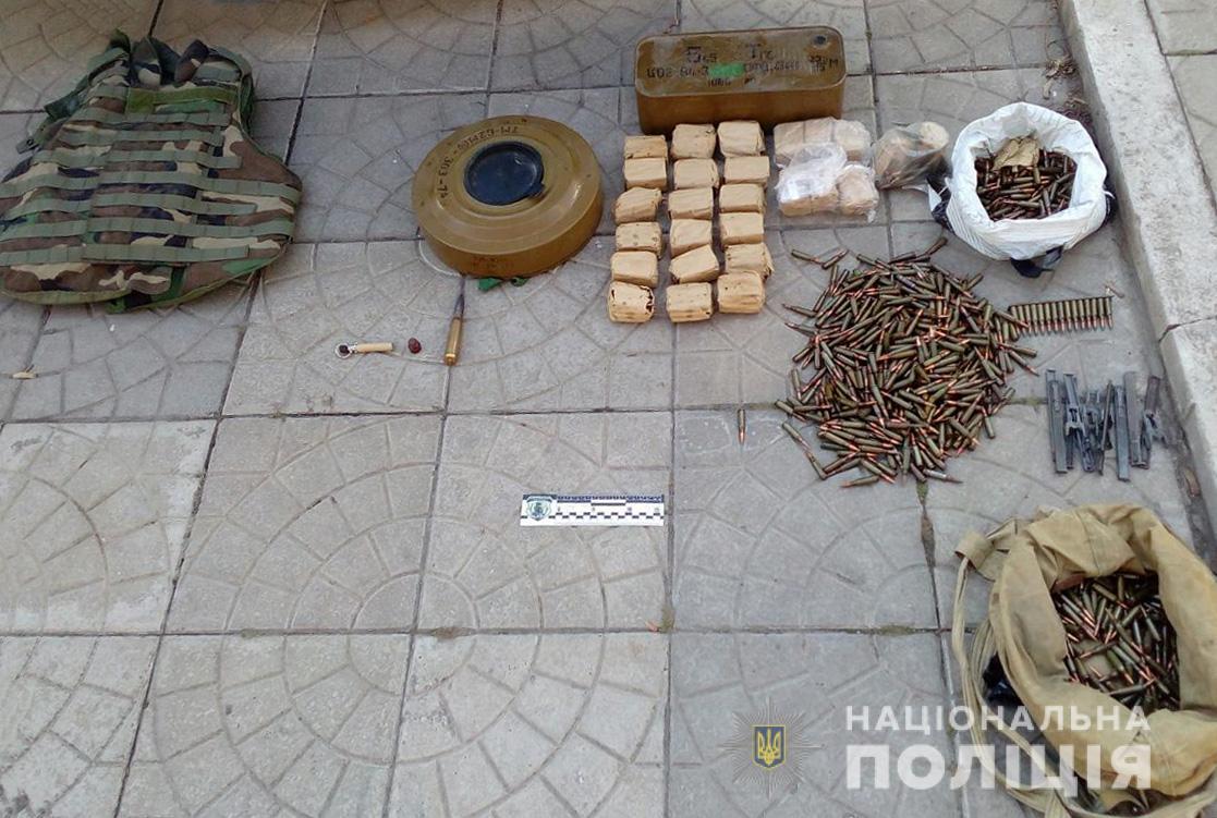 В Запорожье в кафе выявили схрон с боеприпасами (ФОТО)