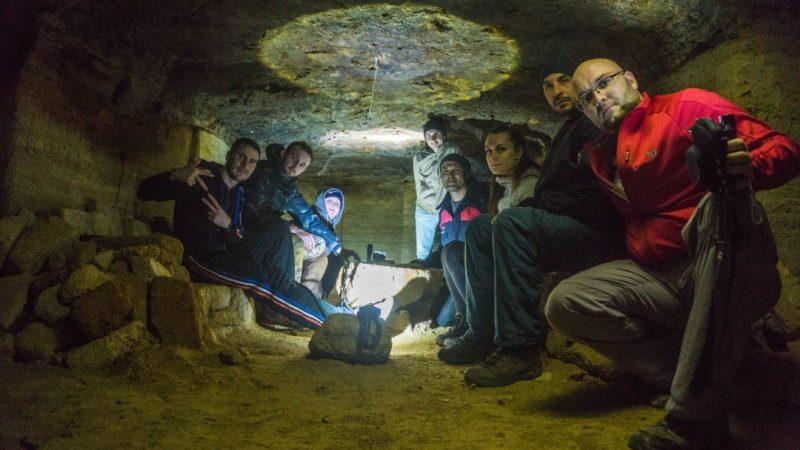 Жители Запорожской области исследовали опасные катакомбы
