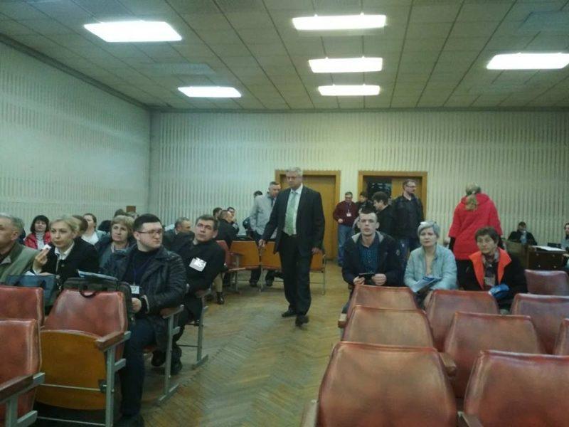 Подсчет голосов на окружной комиссии № 76 в Запорожье продвигается медленно