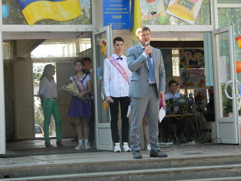 Депутат Запорожского горсовета Игорь Чумаченко