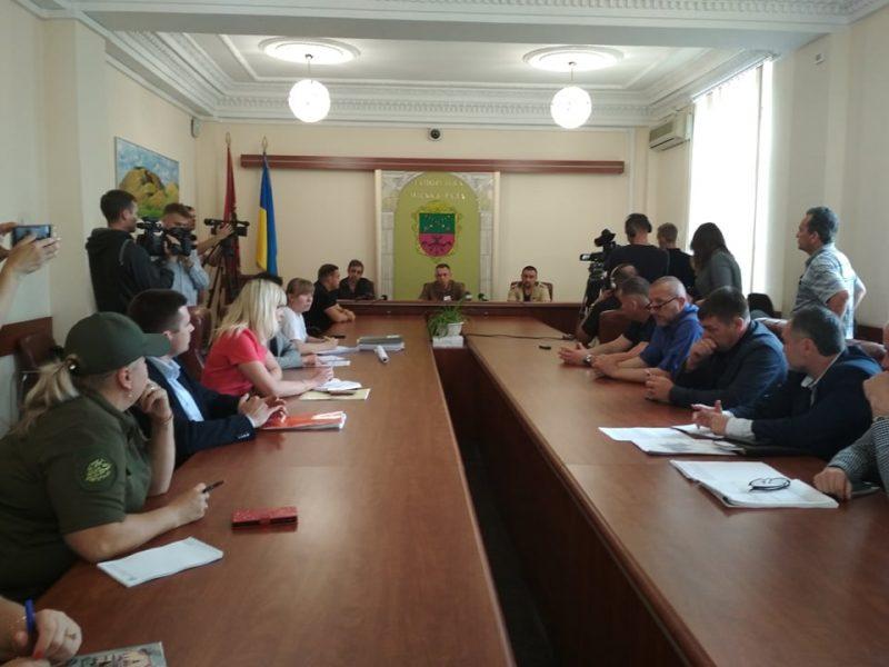 Заседание в Запорожском горсовете