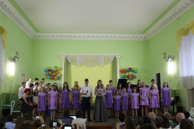 В музыкальной школе №2 состоялся выпускной