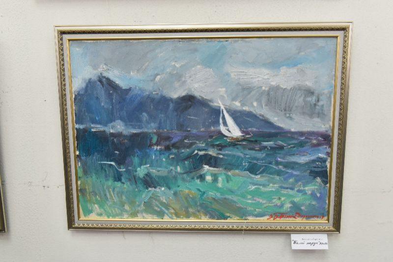 Запорожские художники в Греции