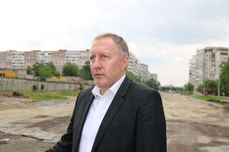 председатель районной администрации Запорожского горсовета по Александровскому району ВалерийМостовой