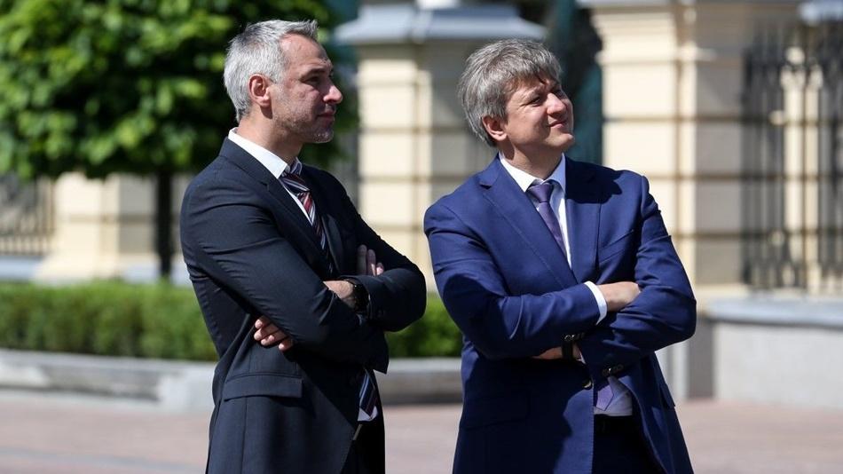 Руслан Рябошапка (слева), фото УНИАН