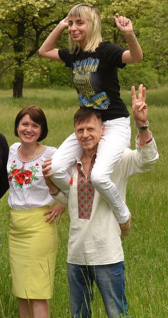 Владимир Фризько с коллегами