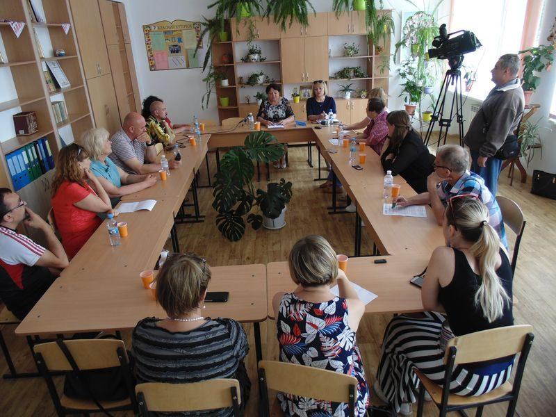пресс-тур журналистов в Раздольскую громаду