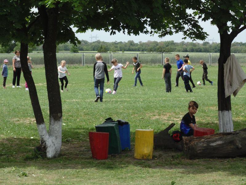 в селе дружат со спортом