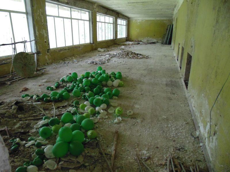 В таком виде было здание спорткомплекса до реконструкции