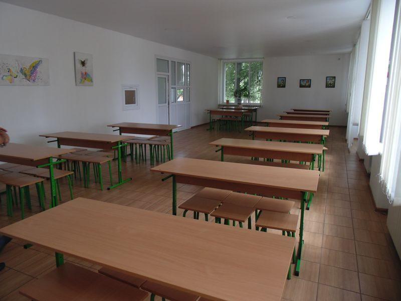школьная столовая в Раздоле