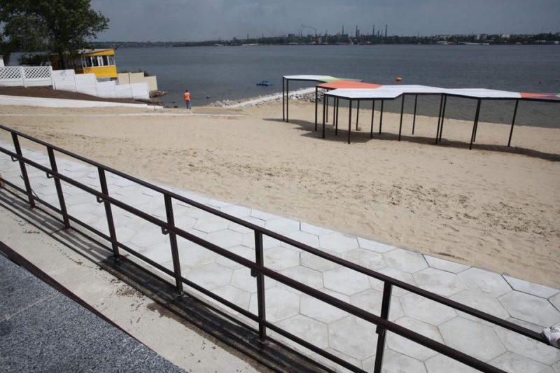 Правобережный пляж