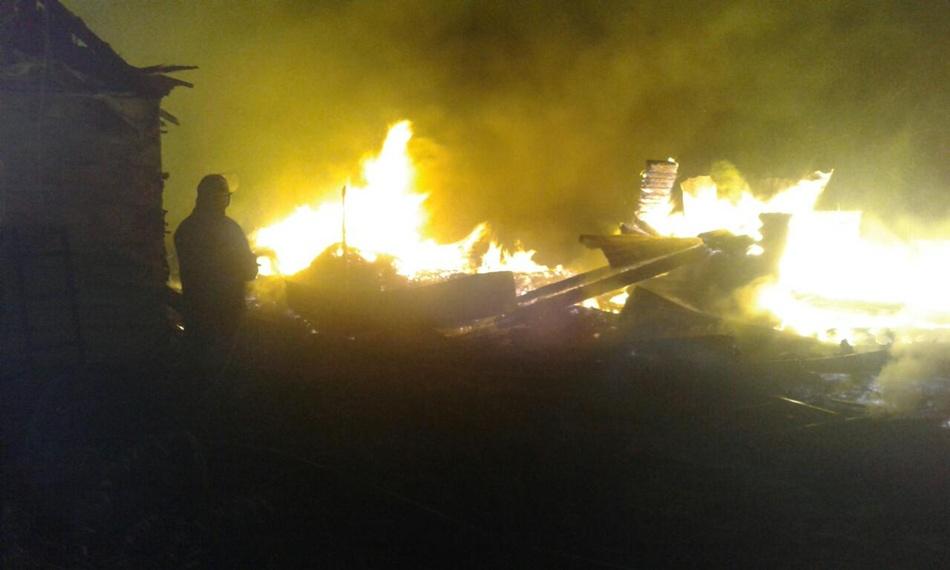 Во время пожара никто не пострадал. Фото: ГСЧС