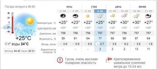 Погода в Бердянске на 3 июля. sinoptik.ua